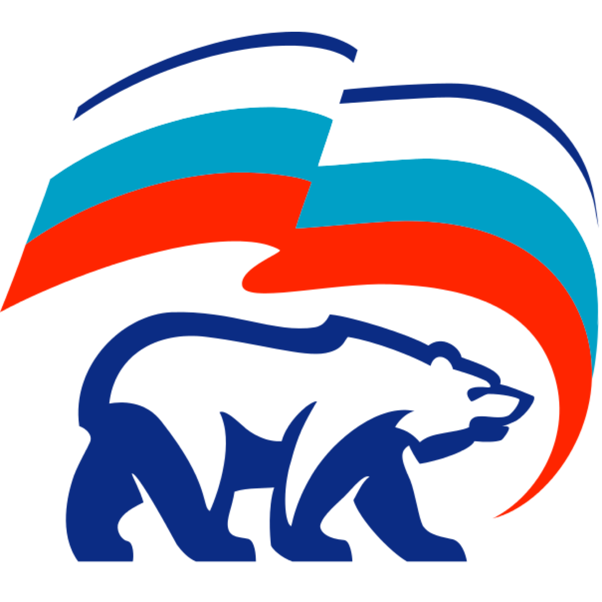эмблема единой россии картинка расположенное